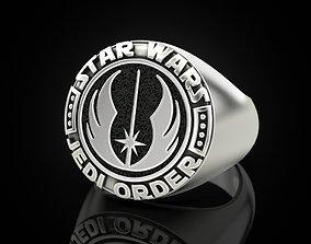 3D print model printable Ring star wars jedi order 1
