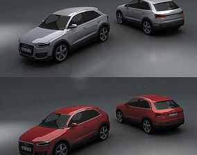 3D asset Audi Q3
