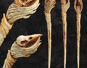 Raven Skull Wand - Harry Potter Spirit 3D print model