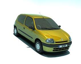 Renault Clio 1998 3 doors 3D model