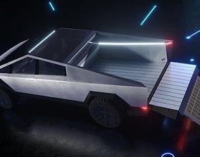 Cybertruck Tesla Best Detailed Cyber Truck 3D model