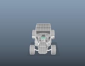 3D asset HOT ROD CAR