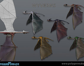 Wyverns 3D model
