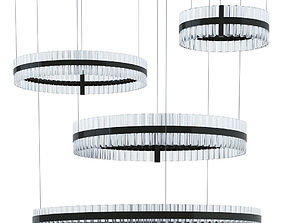 3D model Saturno Not Baroncelli Suspension Black 470 700 1