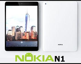 Nokia N1 Tablet White 3D model