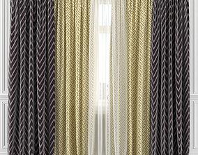 Curtain Set 195C 3D