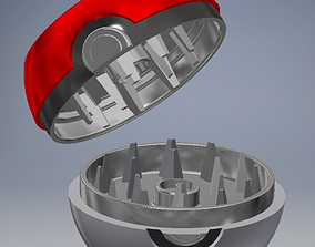 Pokegrinder Pokemon Grinder 3D print model