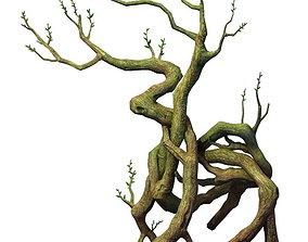 3D Game Model - Hanging Garden - Cloud Tree 02