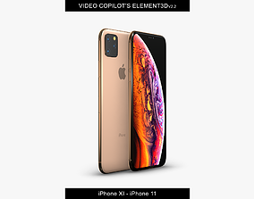 Element3D - iPhone XI - iPhone 11 VR / AR ready