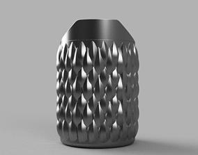 3D printable model Scaly trash bin Trash bucket