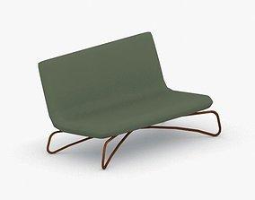 3D asset 0498 - Armchair