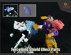 Forcefield Shield Effect Parts for 3D print model