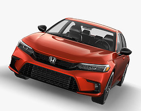 3D model Honda civic 2022