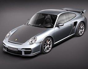 3D model Porsche 911 GT2 RS 2011