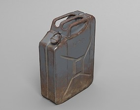 3D asset Used Jerry Can - WW2 - War - UE4 ready - Low 3