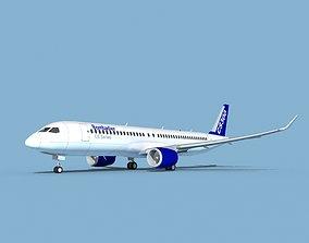 3D Bombardier CS300