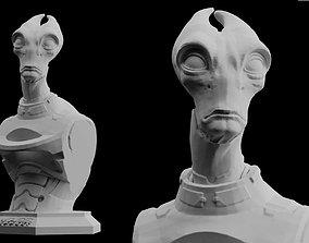 3D print model Mass Effect Andromeda Salarian