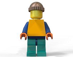 3D print model LEGO man figure