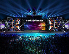 3DS Max 2014 Stage Concert 53