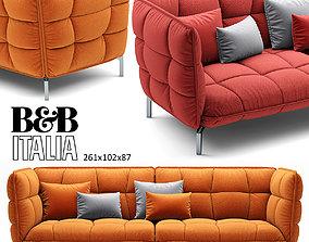 HUSK sofa BandB Italia 261 3D model
