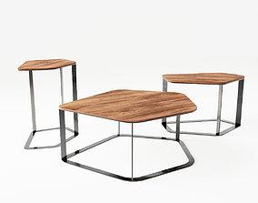 Bernhardt Design Chance Coffee Table 3D model