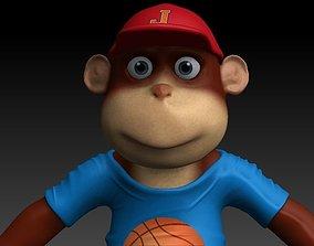Monkey junior 3D asset