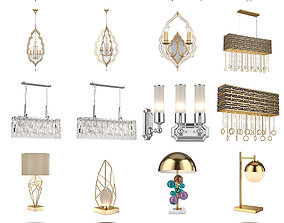 3D Lucia Tucci Lamps pack