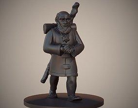 3D print model Gnome Priest or Cleric Miniature