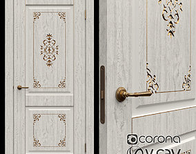Interroom door of Vincent Krona 3 3D model