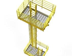 3D asset scaffold