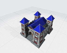 3D printable model barrack