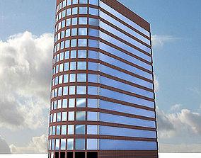 3D Urban City building