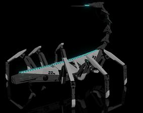 3D model Scorpion Robot