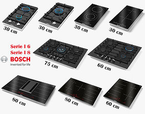 3D model BOSCH Hob Collection