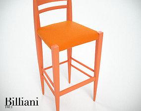 Billiani Vincent VG stool 444 3D model