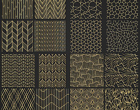 3D collection of golden lattice