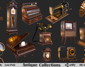 3D model Antique Collections PBR