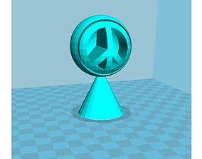 Funky Peace 3D print model