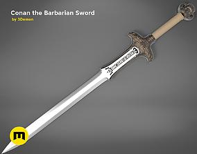 Conan the Barbarian Sword 3D print model