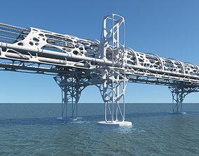 Future Bridge 01 3D model