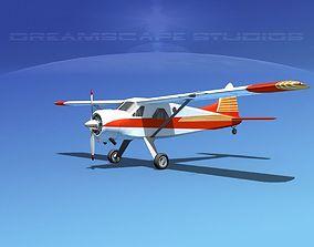 Dehaviland DH-2 Beaver SL04 3D model