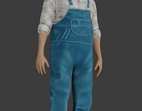3D asset Country Man