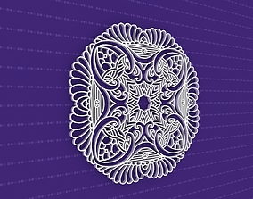 yoga pattern 3D Mandala