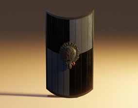3D model realtime buckler Shield
