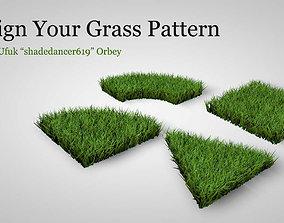 Grass Patterns 3D