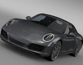 3D Porsche 911 Carrera Coupe 991 2016