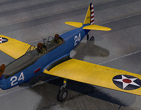 Fairchild PT-19 Cornell 3D