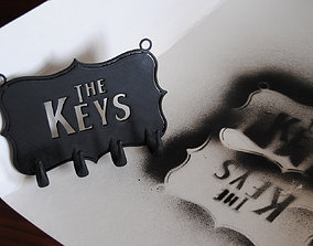 The Keys keyhanger 3D printable model