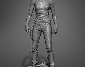 3D printable model Ellie Santa Barbara Outfit