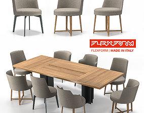 Flexform Hera 3D model